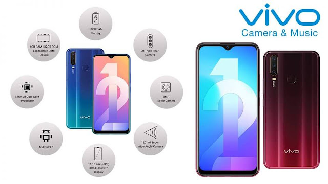 Vivo Y12 Specification