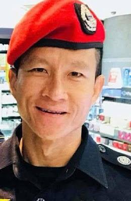 Saman, a former Thai Navy SEAL diver,