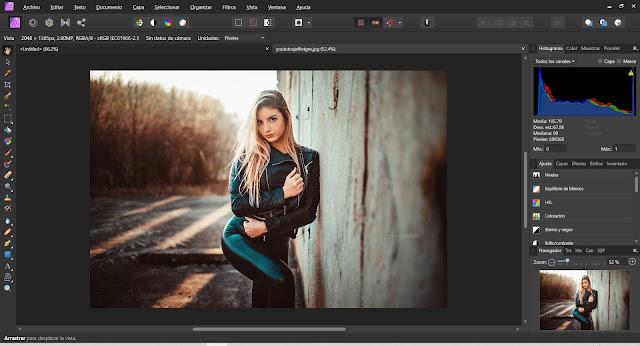 Serif Affinity Photo Full imagenes