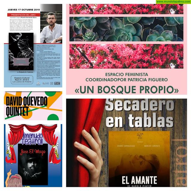 Intenso fin de semana en los espacios culturales del casco urbano de Los Llanos de Aridane