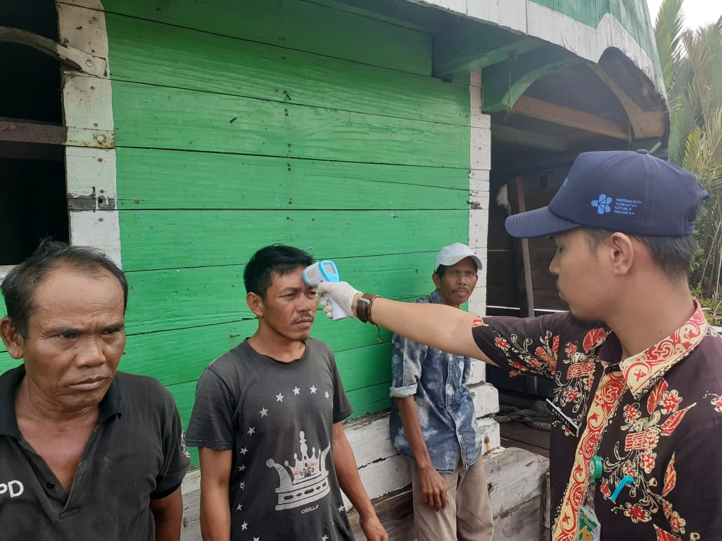 ABK Kapal dari Malaysia di Nipah Panjang Diperiksa, Ini Hasilnya