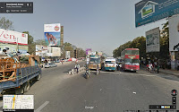 Hino, Ashok-Leyland Titan, Dhaka, Bangladesz, Google Street View