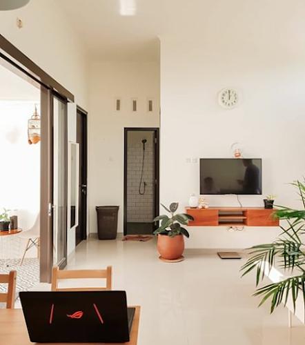 desain ruang keluarga dan ruang tv minimalis