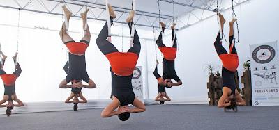 beneficios yoga aereo