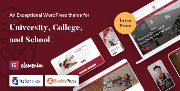 Best University and College WordPress Theme