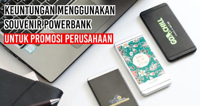 Keuntungan Menggunakan Souvenir Powerbank Untuk Promosi Perusahaan