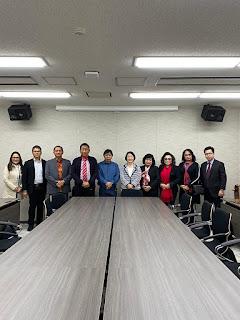 Bupati Sumendap Hadiri Kerjasama Pengembangan SDM di Jepang