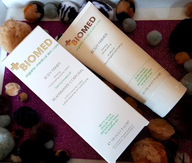 BODY FIRMER ujędrniająco-nawilżający balsam do ciała | kosmetyki BIOMED organic medical skin care - produkty wegańskie i prawie w 100% naturalne