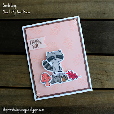 raccoon card created with Thoughtful Critters