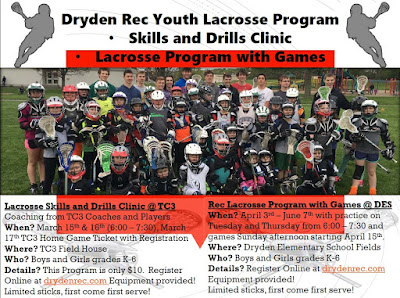 Dryden Youth Lacrosse Opportunities