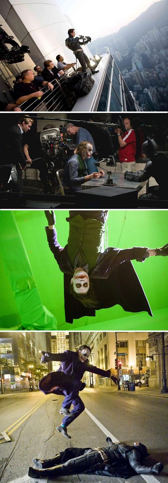 Detrás de cámaras en las grandes producciones de Hollywood