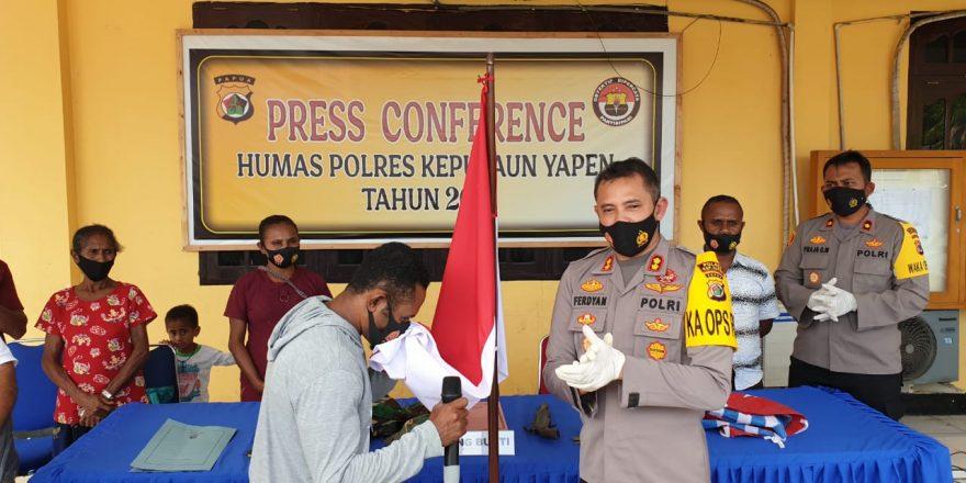 Komandan KKB Wilayah Kosiwo Mantapkan Diri Kembali ke NKRI