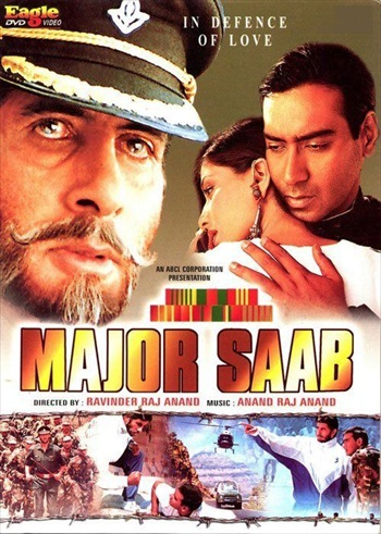 Major Saab 1998 Hindi 480p DVDRip – 450mb