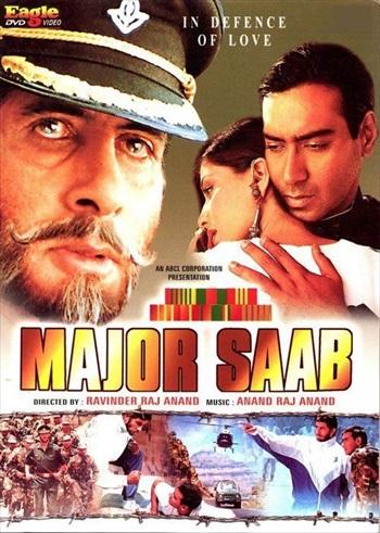 Major Saab 1998 Hindi Movie Download