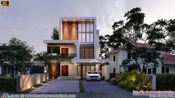 Luxury 4 bedroom 4600 square feet in contemporary style