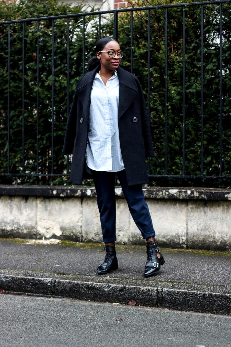 blog-mode-chemise-rayée-collant-résilles