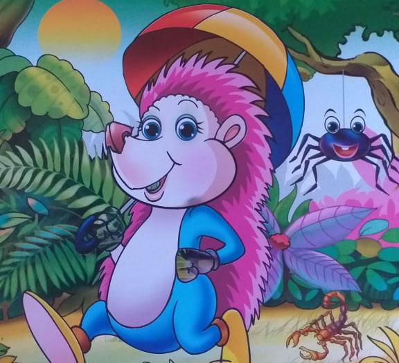 قصص اطفال قبل النوم The story of a hedgehog under the exercise قصة قنفد تحت التمرين