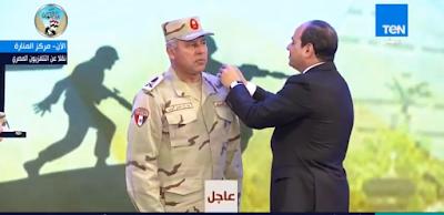 عاجل.. الرئيس السيسي يرقي كامل الوزير إلى رتبة الفريق