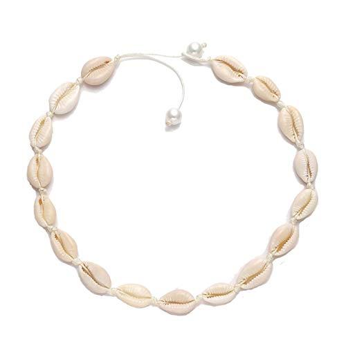 AMAZON -  50% off Shell Choker Necklace