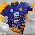 Umbro lança as novas camisas do Township Rollers