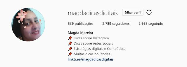 Não esqueça de me seguir no Instagram: