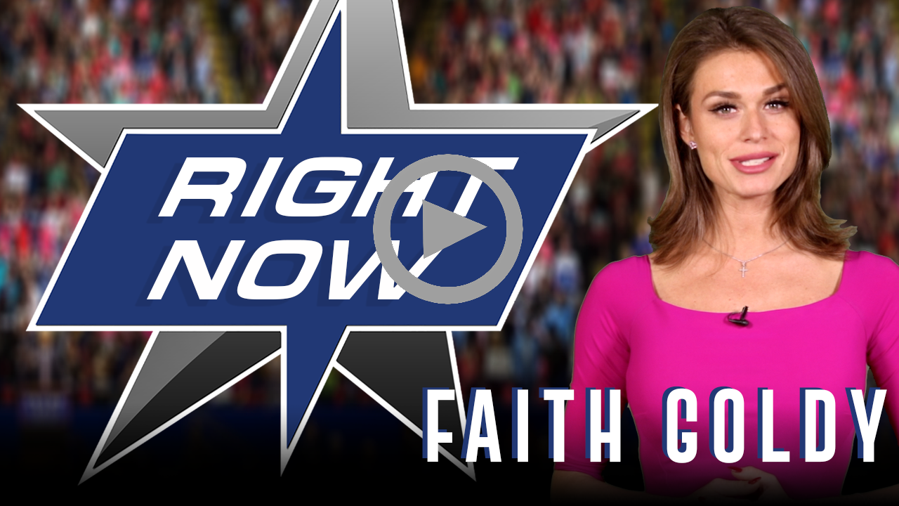Faith Goldy Interview portrait, Right Now podcast
