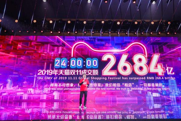 شركة Alibaba تحقق رقم قياسي جديد في يوم العزاب