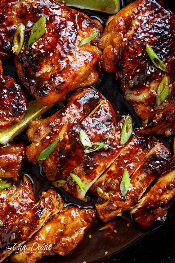 Honey Garlic Sriracha Chicken Recipe