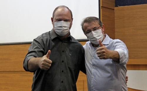 Beto Lunitti retoma o poder após duas semanas afastado para tratamento de saúde