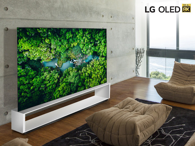 LG To Unveil 2020 Real 8K TV Lineup Featuring Next-Gen AI Processor At CES 2020