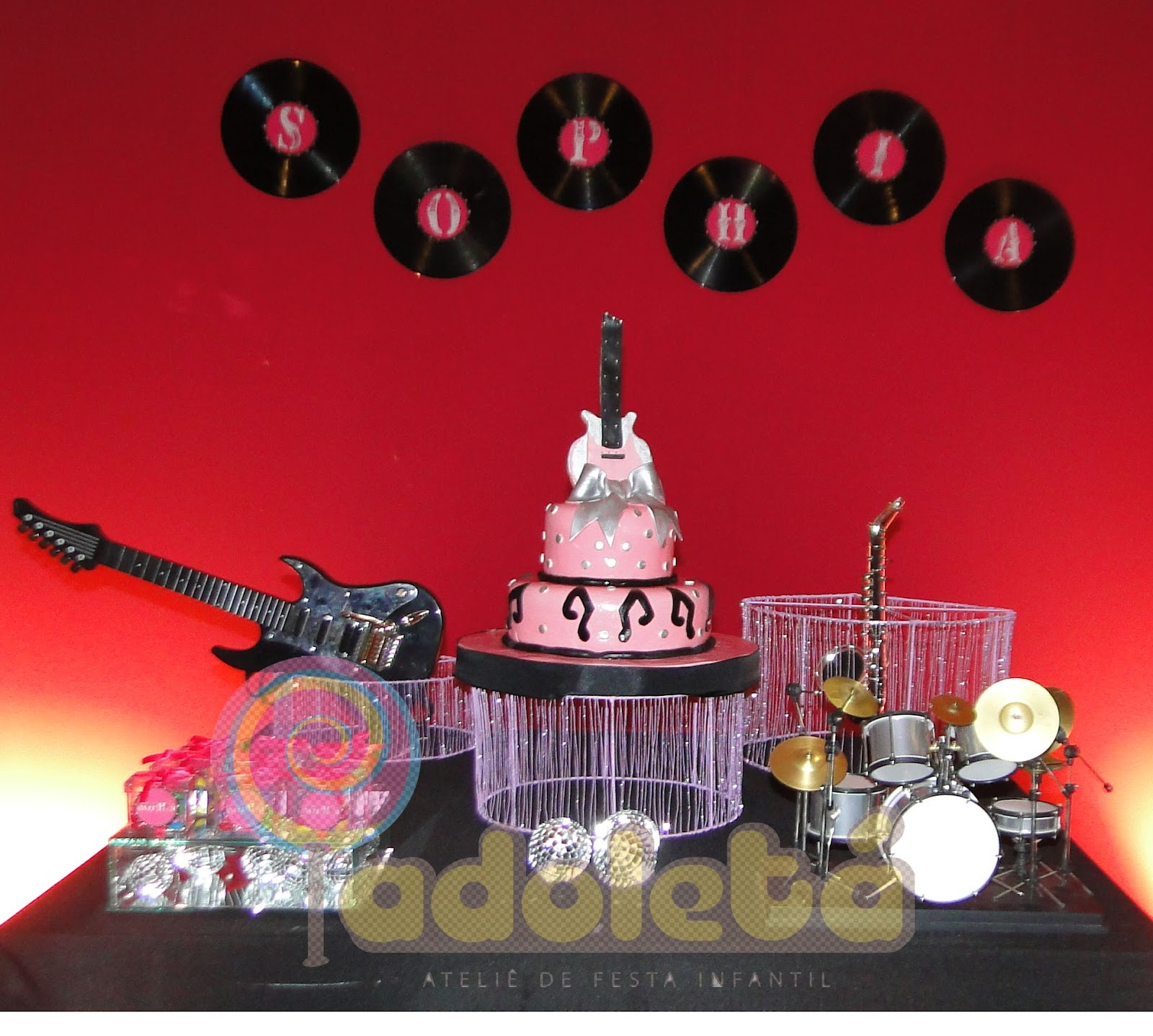Rock N Roll Interieur Festa Infantil Rock N Roll Car Interior Design