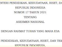 Permendikbudristek Nomor 17 Tahun 2021: Asesmen Nasional