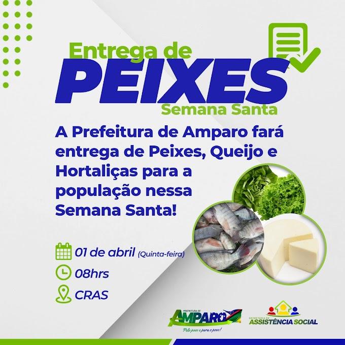 Prefeitura de Amparo fará distribuição de peixes na Semana Santa