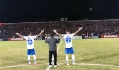 Viking Clap Membahana di Stadion Sultan Agung Bantul (Video)