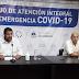 El gobernador encabezó reunión del Consejo   de Atención Integral de la Emergencia