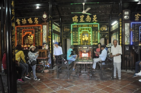 Bên trong ngôi nhà cổ người Hoa của dòng họ Lai tại phường 1, thị xã Vĩnh Châu, tỉnh Sóc Trăng
