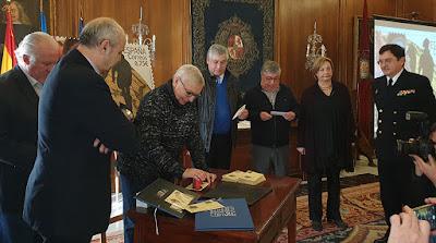 matasellos, sello, Pedro Menéndez, Avilés, cronista, Josefa Sanz