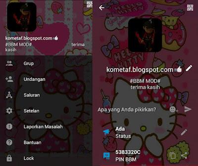 BBM MOD v3.0.1.25 Hello Kitty FunnyAPK best Theme