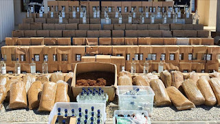 عمليات لمكافحة المخدرات والمشروبات المزيفة في العديد من الولايات التركية