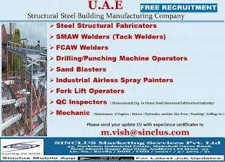 Free Recruitment for UAE