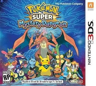 Rom Pokemon Super Mystery Dungeon 3DS