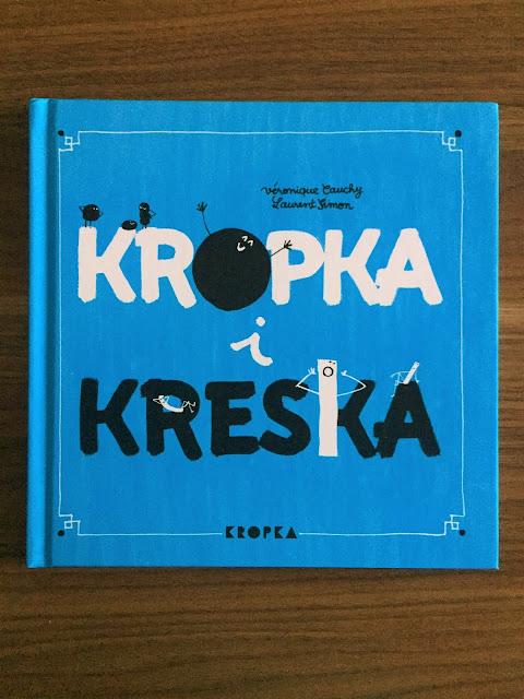 """Recenzje #170 - """"Kropka i kreska"""" - okładka książki - Francuski przy kawie"""