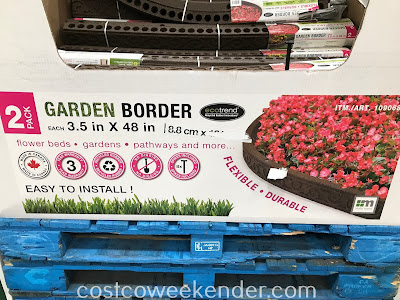 Give your backyard the proper landscaping it needs with Ecotrend Garden Borders