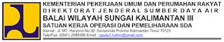 Lowongan Kerja Balai Wilayah Sungai Kalimantan IV Samarinda