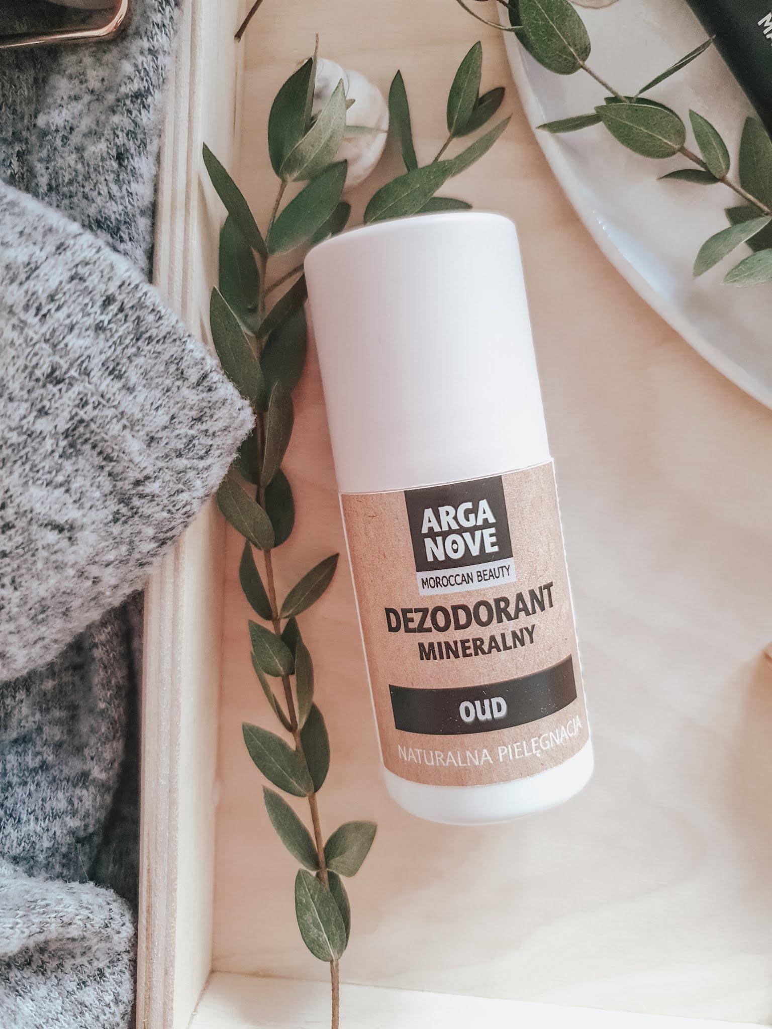 Naturalny dezodorant mineralny - Arganove
