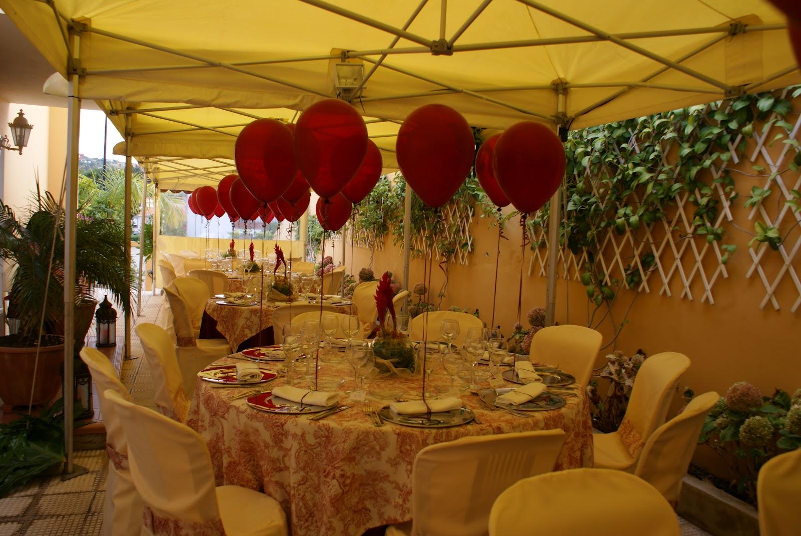 La guarida de bam decorar con globos - Como adornar una fiesta de cumpleanos ...