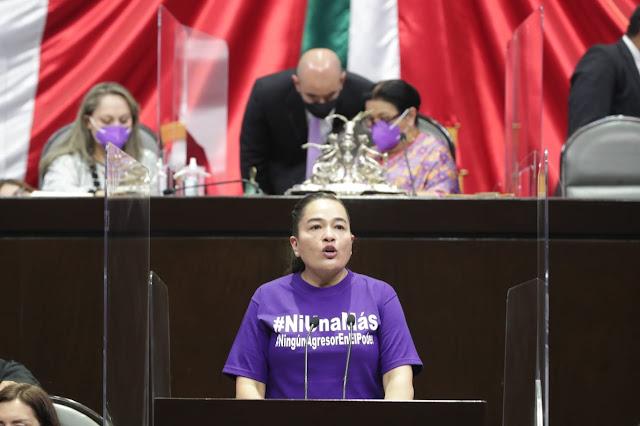 Acusa PRD al Ejecutivo Federal de rehusarse a reconocer la violencia de género
