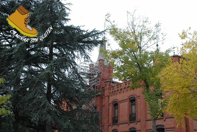 Fachada del palacio Quinta de Torre Arias Diciembre 2016