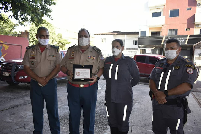 17º GBM recebe visita do comandante-geral do CBMBA*