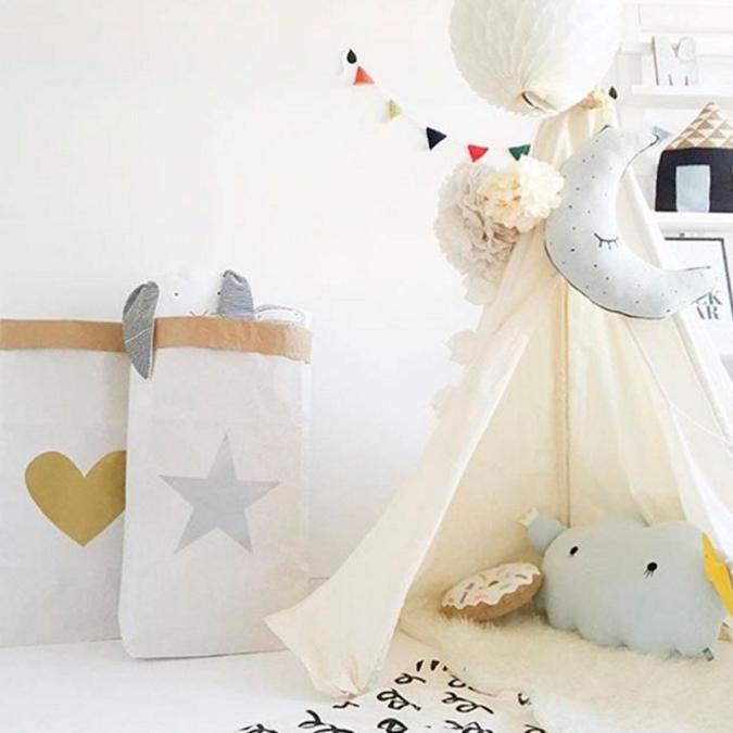 sacos decorativos de papel